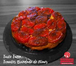 Tarte Tatin Tomates Brandade de Nîmes