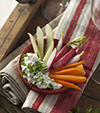 Brandade de Nîmes, ail, fines herbes et petits légumes